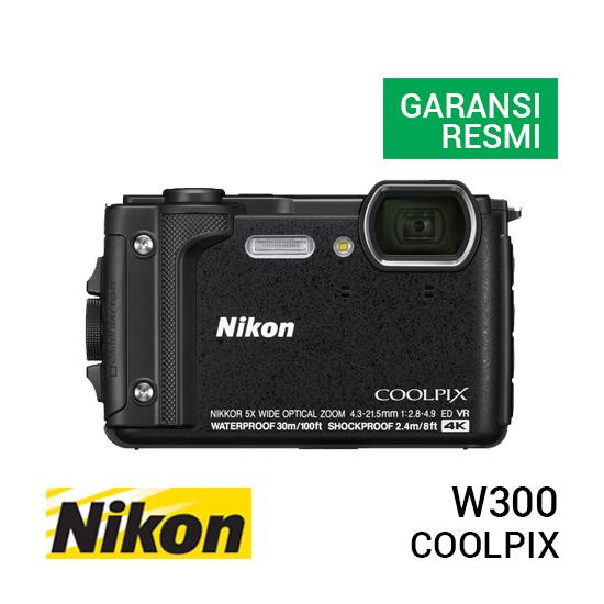 jual kamera Nikon Coolpix W300 Black harga murah surabaya jakarta