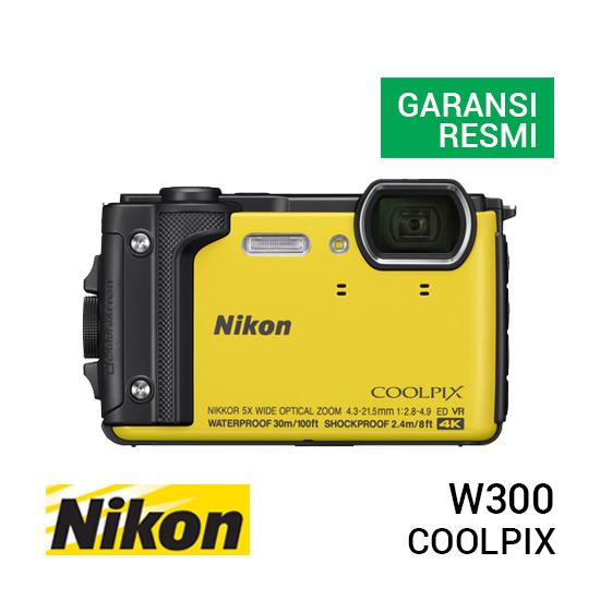 jual kamera Nikon Coolpix W300 Yellow harga murah surabaya jakarta