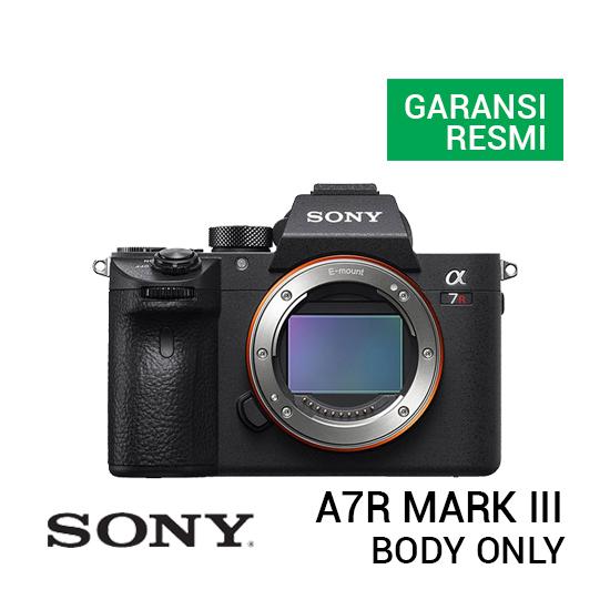 jual kamera Sony A7R Mark III Body Only harga murah surabaya jakarta