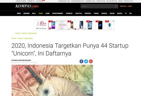 Kompas 44 Startup Unicorn