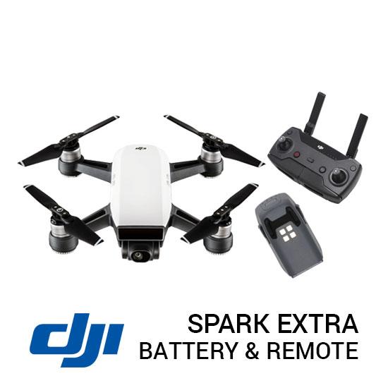 spark extra battery and remote plazakamera surabaya jakarta
