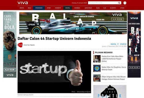 Viva 44 Startup Unicorn