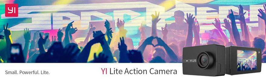 Jual Action Camera Xiaomi Yi LITE 4K - Black Harga Murah