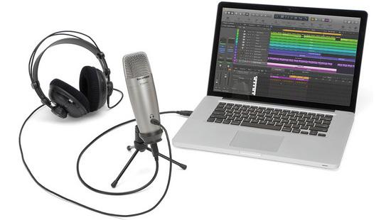 Jual Audio Microphone Condenser Samson C01U Pro USB Studio Condenser Microphone Harga Murah