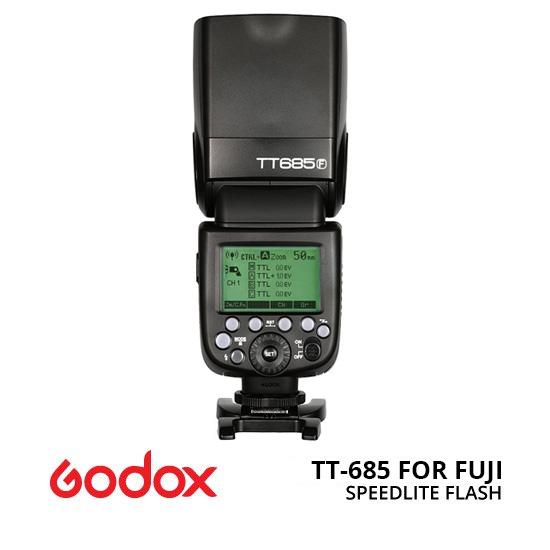 Jual Flash Auto / TTL Godox Speedlite TT-685 Fuji Harga Murah