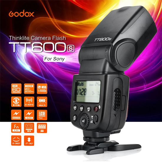 Jual Flash Manual Godox Thinklite Flash TT-600 for Sony Harga Murah