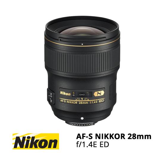 Jual Lensa Nikon AF-S NIKKOR 28mm f/1.4E ED Harga Murah Surabaya Jakarta