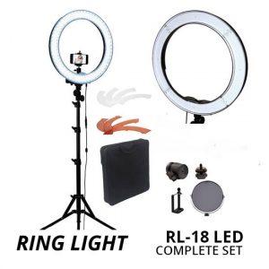 Jual Ring Light RL-18 LED Kit Harga Murah