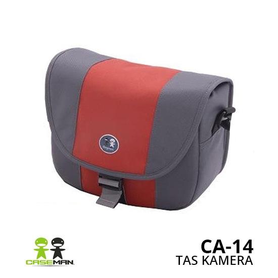 Jual Tas Kamera Caseman CA-14 Lava Red Harga Murah