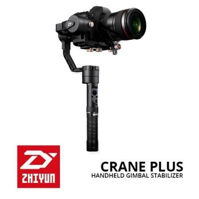 Jual Video Accessories Stabilizer Kamera Zhiyun Crane Plus Handheld Gimbal Stabilizer Harga Murah