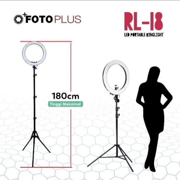 Spesifikasi Ring Light RL-18 Harga Murah Terbaik dan Spesifikasi