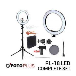 jual Ring Light RL-18 LED Complete Set harga murah surabaya jakarta