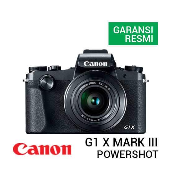 jual kamera Canon PowerShot G1 X Mark III harga murah surabaya jakarta
