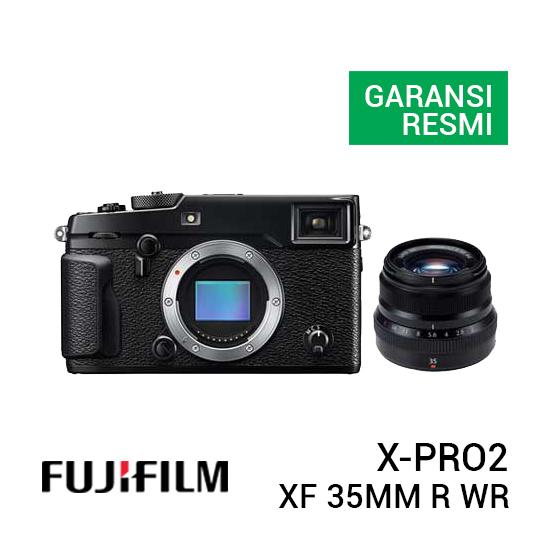 jual kamera FujiFilm X-Pro2 with XF 35mm F2 R WR harga murah surabaya jakarta