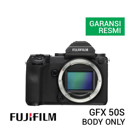 jual kamera Fujifilm GFX 50S Body Only harga murah surabaya jakarta