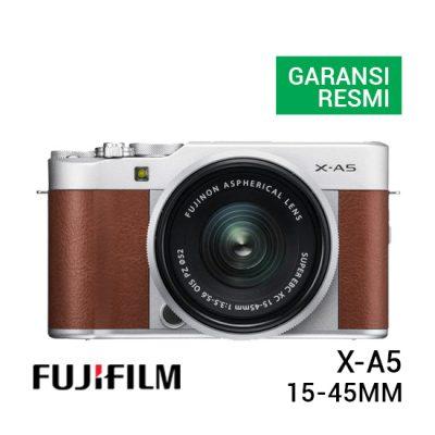 jual kamera Fujifilm X-A5 Kit 15-45mm Brown harga murah surabaya jakarta