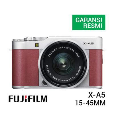 jual kamera Fujifilm X-A5 Kit 15-45mm Pink harga murah surabaya jakarta