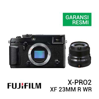 jual kamera Fujifilm X-Pro2 Kit XF 23mm F2 R WR harga murah surabaya jakarta