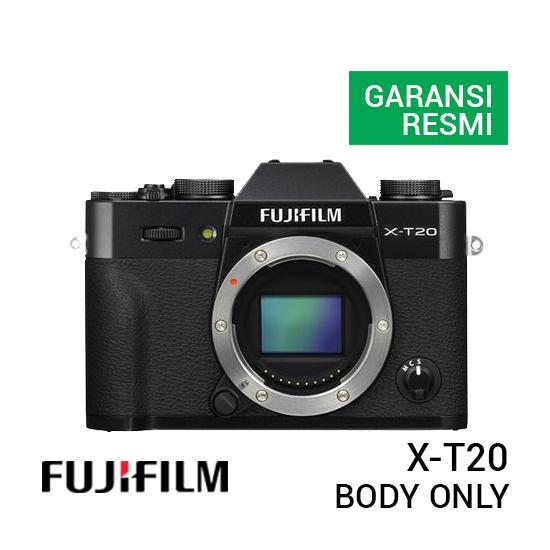 jual kamera Fujifilm X-T20 Body Only harga murah surabaya jakarta