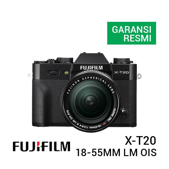 jual kamera Fujifilm X-T20 Kit 18-55mm F/2.8-4 R LM OIS Black harga murah surabaya jakarta