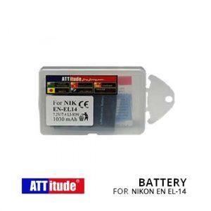 Jual ATT Battery For Nikon EN EL-14 Harga Murah Terbaik dan Spesifikasi