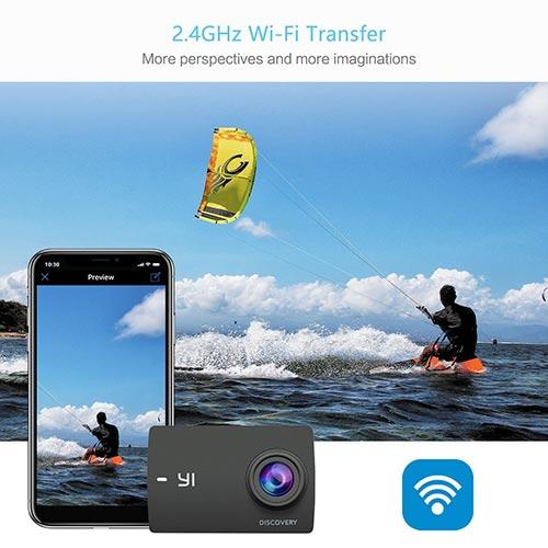 Jual Action Kamera Xiaomi Yi Discovery 4K Black Harga Termurah