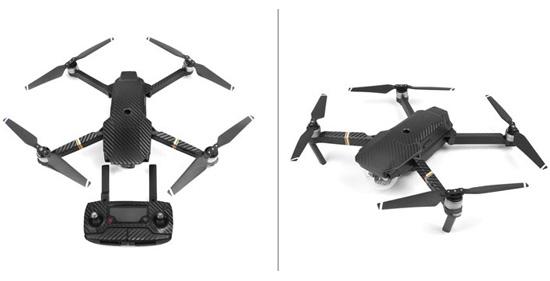 Jual Aksesoris Drone DJI For DJI Mavic Waterproof Skin Carbon 3rd Party Harga Murah