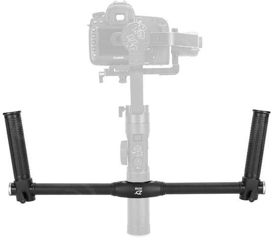 Jual Aksesoris Video Stabilizer Zhiyun Dual Handle for Crane-2 Harga Murah