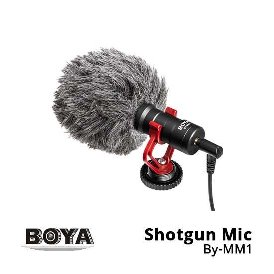 Jual Boya Shotgun Microphone BY-MM1 Harga Murah Terbaik dan Spesifikasi