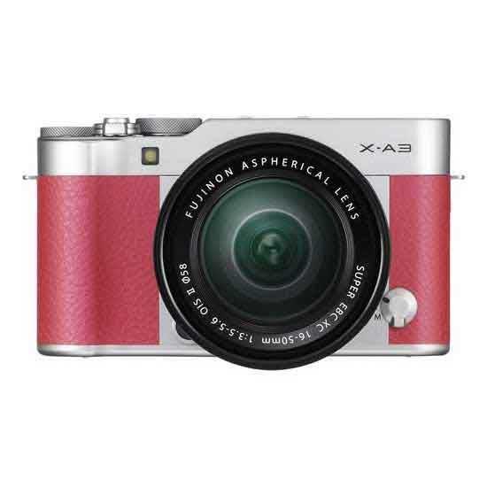 Jual FUJIFILM X-A3 Kit XC 16-50mm f3.5-5.6 OIS II Pink + Instax Mini8 Harga Murah