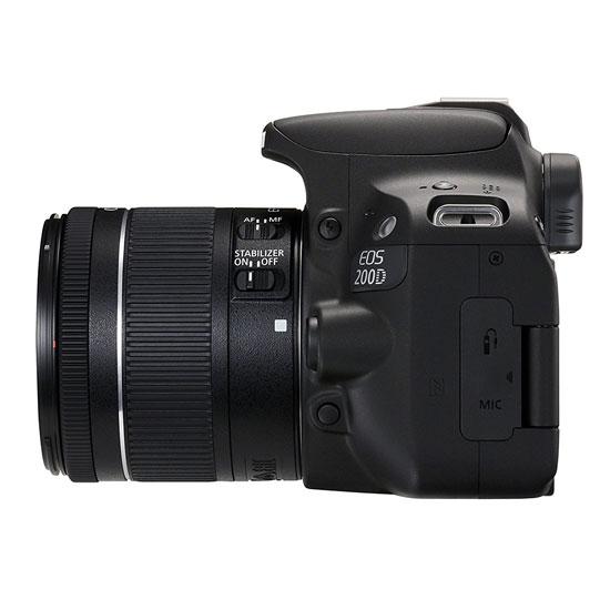 Jual Kamera DSLR Canon EOS 200D Kit EF-S 18-55 IS STM Black Harga Murah