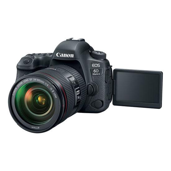 Jual Kamera DSLR Canon EOS 6D Mark II Kit EF 24-105mm f/4L IS II USM Harga Murah