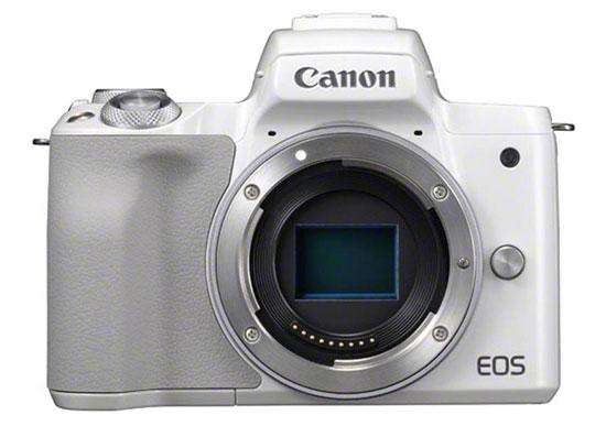 Jual Kamera Mirrorless Canon EOS M50 Body Only – White Harga Murah