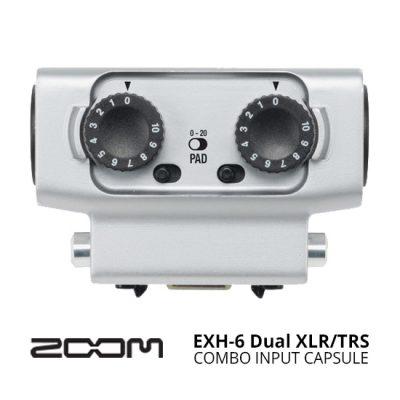 jual audio Zoom EXH-6 Dual XLR/TRS Combo Input Capsule harga murah surabaya jakarta