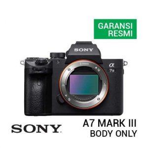 jual kamera mirrorless Sony A7 Mark III Body Only harga murah surabaya jakarta