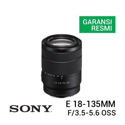 jual kamera Sony E 18-135mm f/3.5-5.6 OSS harga murah surabaya jakarta