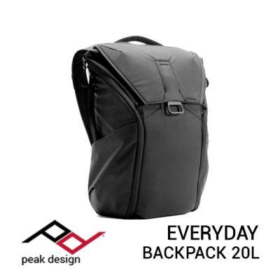 jual tas Peak Design Everyday Backpack 20L Black harga murah surabaya jakarta