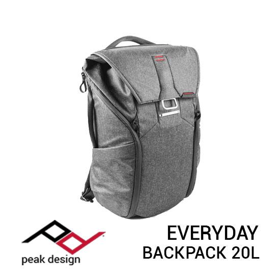 jual tas Peak Design Everyday Backpack 20L Charcoal harga murah surabaya jakarta