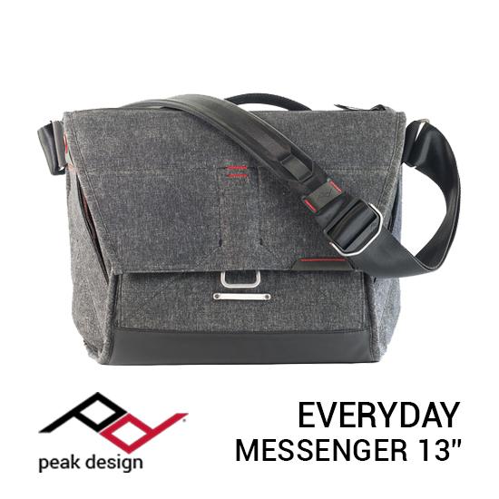 jual tas Peak Design Everyday Messenger 13 Inch Charcoal harga murah surabaya jakarta