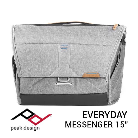 jual tas Peak Design Everyday Messenger 15 Inch Ash harga murah surabaya jakarta
