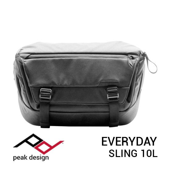 jual tas Peak Design Everyday Sling 10L Black harga murah surabaya jakarta