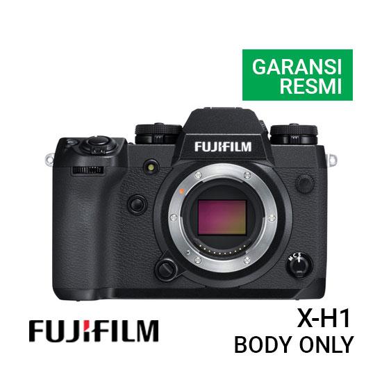 Jual Kamera Mirrorless FujiFilm X-H1 Body Only Harga Terbaik