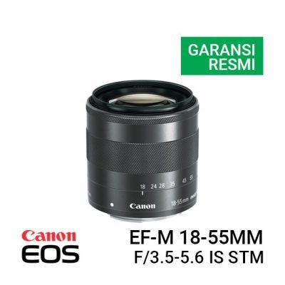Jual Lensa Canon EF-M 18-55mm f/3.5-5.6 IS STM Harga Murah