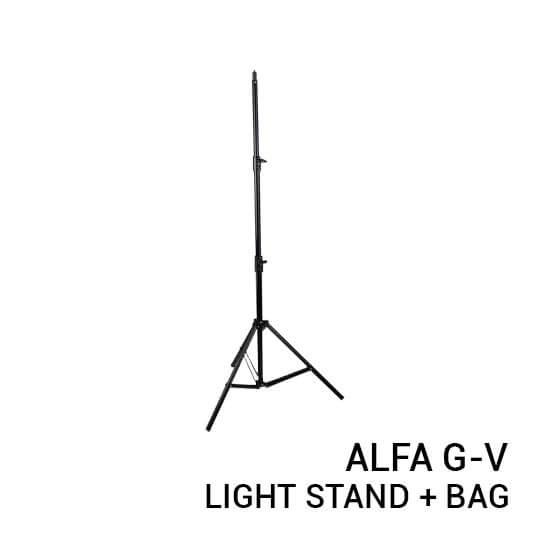 jual Alfa G-V Aluminium Light Stand with Bag harga murah surabaya jakarta