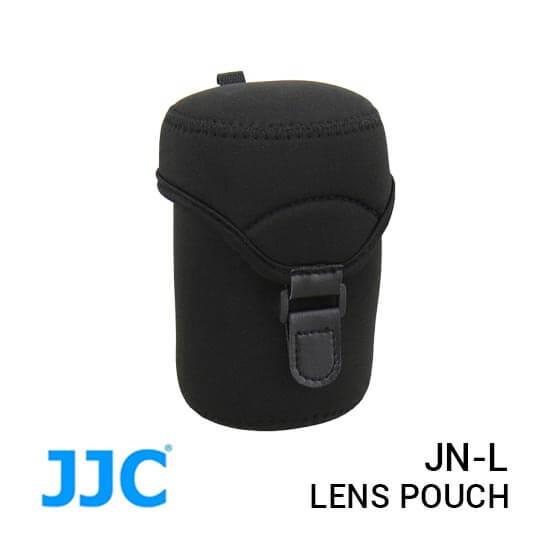 jual JJC JN-L Lens Pouch Neoprene Metal Hook harga murah surabaya jakarta