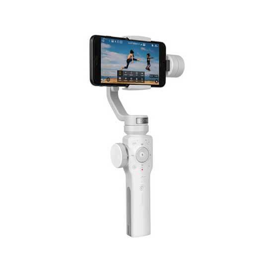 jual stabilizer Zhiyun Smooth 4 Smartphone Stabilizer White harga murah surabaya jakarta