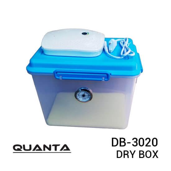 jual dry box Quanta DB-3020 Dry Box with Electric Silica Gel harga murah surabaya jakarta