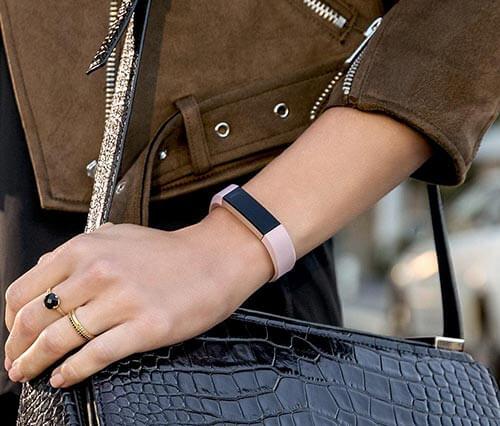 jual jam Fitbit Alta HR Pink Rose Gold harga murah surabaya jakarta