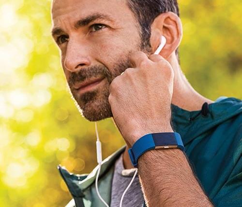 jual jam Fitbit Charge 2 Blue harga murah surabaya jakarta