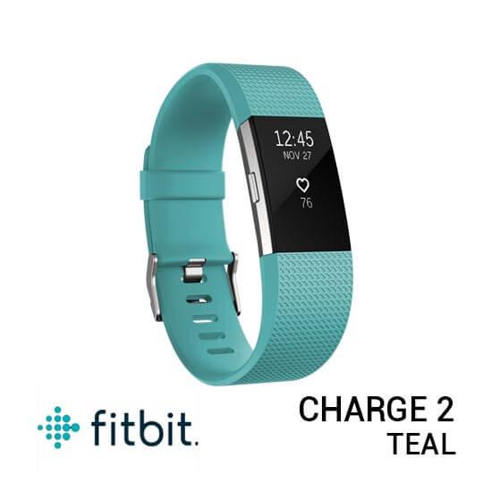 jual jam Fitbit Charge 2 Teal harga murah surabaya jakarta